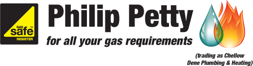 Philip Petty: for all your gas requirements. Trading as Chellow Dene Plubing and Heating.