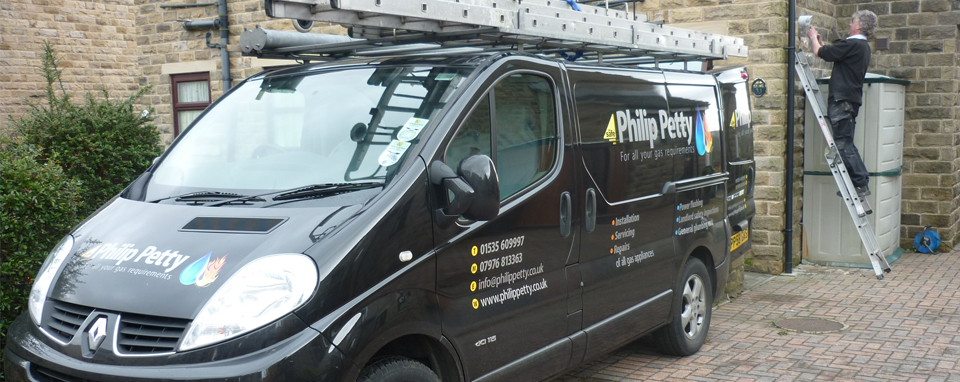 Philip Petty: for all your gas requirements van